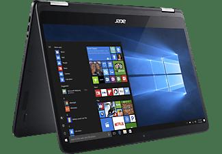 ACER Spin 7 (SP714-51-M339), Convertible mit 14 Zoll, 256 GB Speicher, 8 GB RAM, Core™ i7 Prozessor, Windows® 10 Home (64 Bit), Schwarz