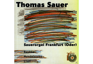 Thomas Sauer - Orgelmusik - (CD)