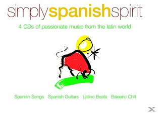 VARIOUS - Simply Spanish Spirit [CD]