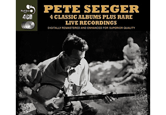 Pete Seeger - 4 Classic Albums Plus Rare Tracks [CD]