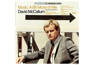 David Mccallum - Music: A Bit More Of Me - (CD)
