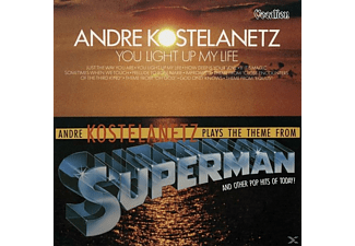 Andre Kostelanetz & His Orchestra - You Light Up & Plays The Theme... [CD]