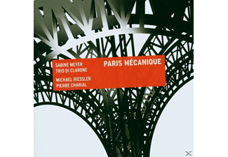 Meyer Sabine, Trio Di Clarone, Sabine/trio Di Clarone Meyer - Paris Mecanique - (CD)