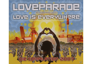 VARIOUS - Loveparade 2007 - (CD + DVD Video)