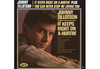 Johnny Tillotson - It Keeps Right on a-Hurtin'/You Can Never Stop Me Loving you - (CD)