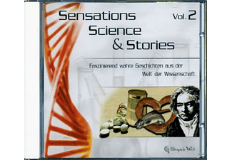 Sensations Science & Stories Vol.2 - 1 CD - Hörbuch