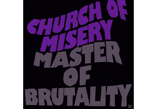 Church Of Misery - Master Of Brutality (Re-Release Incl.3 Bonus Track ) - (CD)