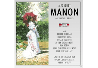 Chor & Orch.Der Opera Comique Paris - Manon (Ga) - (CD)