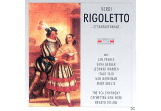 The Rca Orch.new Nork - Rigoletto [CD]