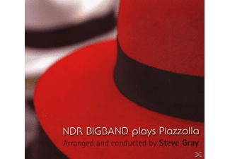 Steve Gray - Ndr Bigband Plays Piazzolla [CD]