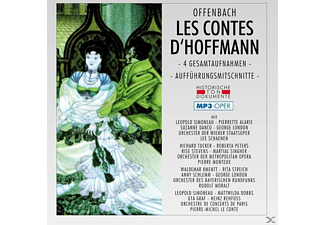 Chor & Orch.D.Wiener Staatsoper - Les Contes D'hoffmann-Mp 3 - (MP3-CD)