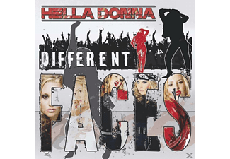 Hella Donna - Different Faces - (CD)
