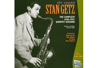 Stan Quartet Getz - Complete 1946-50 Quartet Sessions - (CD)