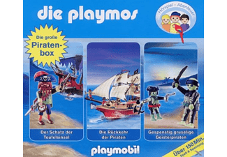 Die Playmos - Hörspiel-Box Piraten - (CD)