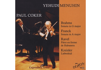 Paul Coker, Yehudi Menuhin - Legendary Artist - (CD)