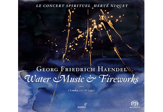 VARIOUS, Herve/le Concert Spirituel Niquet - Water Music & Music For The Royal Fireworks - (SACD Hybrid)