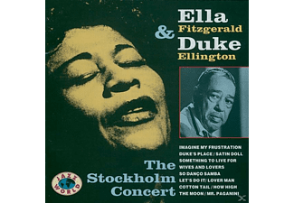 Ella Fitzgerald - The Stockholm Concert - (CD)