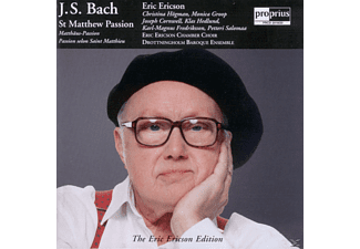 Joseph Cornwell, Christina Högman, Drottningholm Baroque Ens - J.S. Bach: St Matthew Passion / The Eric Ericson Edition Vol - (CD)