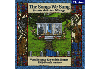 Philip Vocalessence/brunelle - The Songs We Sang/Favorite American Folksongs - (CD)