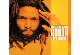 Takana Zion - Rasta Government - (CD)