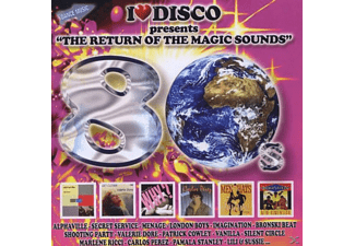VARIOUS - I Love Disco 80's Vol.3 - (CD)