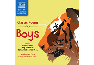 Classic Poems for Boys - 1 CD - Hörbuch