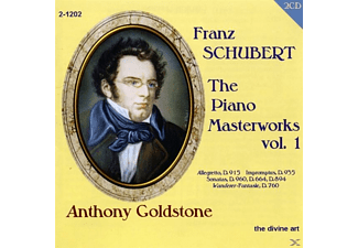 Anthony Goldstone - The Piano Masterworks Vol.1 - (CD)