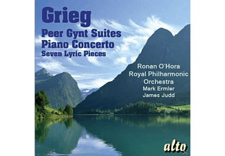 Royal Philharmonic Orchestra - Peer Gynt Suiten/Klavierkonzert in a-moll/+ - (CD)
