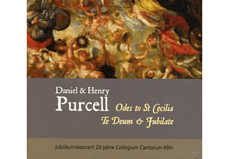 Collegium Cantorum Köln - Daniel & Henry Purcell Music For St.Cecilia [CD]