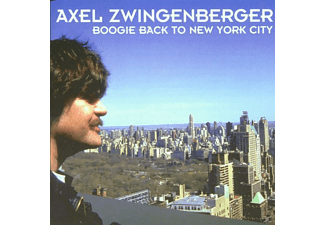 Axel Zwingenberger - BOOGIE BACK TO NEW YORK CITY - (CD)