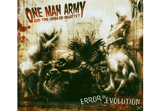 The Undead Quartet - Error In Evolution - (CD)