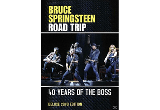 Bruce/road Trip Springsteen - 40 Years Of The Boss - (DVD)