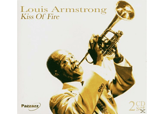 Louis Armstrong - KISS OF FIRE - (CD)