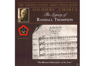 The United States Army Field Band - The Legacy of Randall Thompson - (CD)