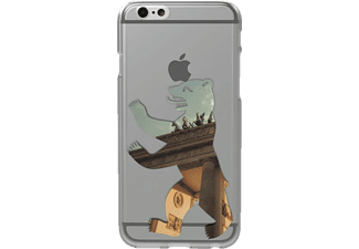 Berlin Bär Backcover Apple iPhone 6, iPhone 6s Kunststoff Transparent