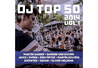 VARIOUS - DJ Top 50 2014 Vol. 1 - (CD)