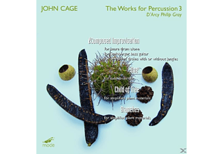 D'arcy  Philip Gray - Works Of Percussion 3 - (CD)