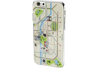 HAMA Berlin Plan, Backcover, iPhone 6/6s, Kunststoff, Beige/Bunt