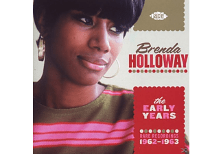 Brenda Holloway - Early Years-Rare Recordings 1962-1963 - (CD)