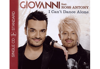 Giovanni & Ross Anton - I Can't Dance Alone (2track) [Maxi Single CD]