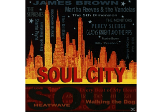 VARIOUS - Soul City - (CD)
