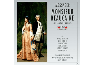 Nicole Broissin, Lina Dachary, Rene Lenoty, Jacques Pruvost, Lucien Lovano, Choeurs Et Orchestre Radio-lyrique De Radio France, Willy Clement - Monsieur Beaucaire - (CD)