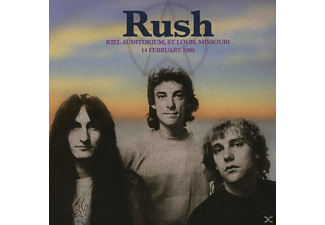 Rush - Kiel Auditorium, St Louis, Mi, Feb.14 1980 - (CD)