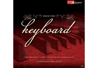 United States Marine Band - From The Keyboard - (CD)