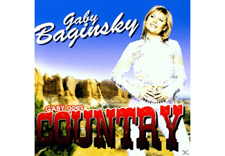 Gaby Baginsky - Gaby Goes Country - (CD)