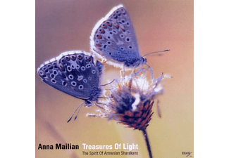 Anna Mailian - Treasures Of Light - (CD)