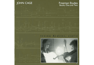 Irvine Arditti - Vol.7:Freeman Etudes,Books 1 & 2/Om - (CD)