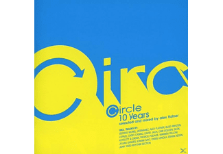 VARIOUS - Circle 10 Years - Selected And Mixed By Alex Flatner - (CD)