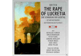 English Opera Group Orchestra - The Rape Of Lucretia - (CD)