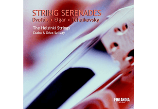 The Helsinki Strings, Geza & Csaba Szilvay - Streicherserenaden - (CD)
